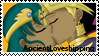 YGO: AncientLoveshipping stamp by DivineSpiritual