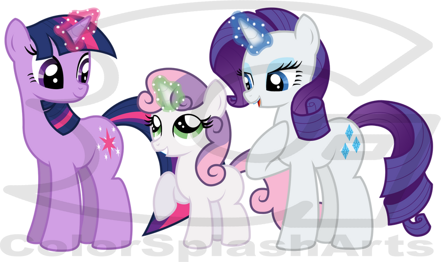 Mlp Sweetie Bell S Magic Lesson By Divinespiritual On