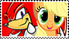 KnucklesxApplejack stamp by DivineSpiritual