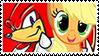 KnucklesxApplejack stamp by DivineSpiritual