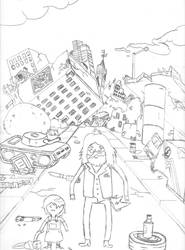 Adventure Time - The Wreckage of the World by RadicalEdward2