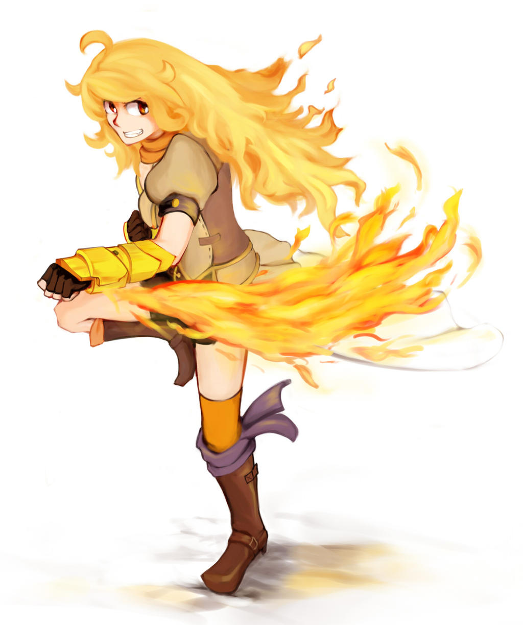 Yang Xiao Long Wallpaper: Commission By VLK1993 On DeviantArt