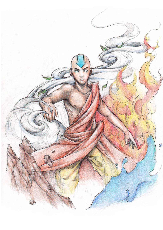 The Avatar by ItsBirdyArt