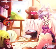 Aki After School by chamoth143