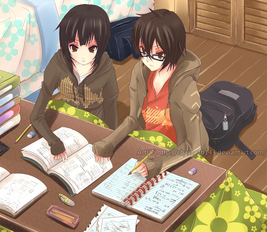 Anime Studying