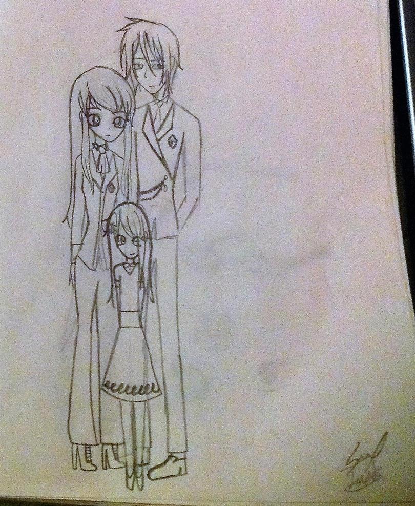 Michaelis Kurai Family (by luna) by Princess15eevee