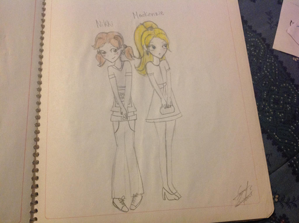 Nikki and Mackenzie (by luna) by Princess15eevee
