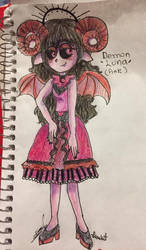 Demon Luna (Pink)(HH and HB)(by luna and sol)