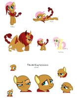 Cora the Manticorn Pony (DTA) by PandoraRose22