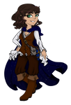 DND :: Halfling Wizard Commission