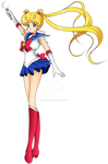 Sailor moon Crystal opening pose