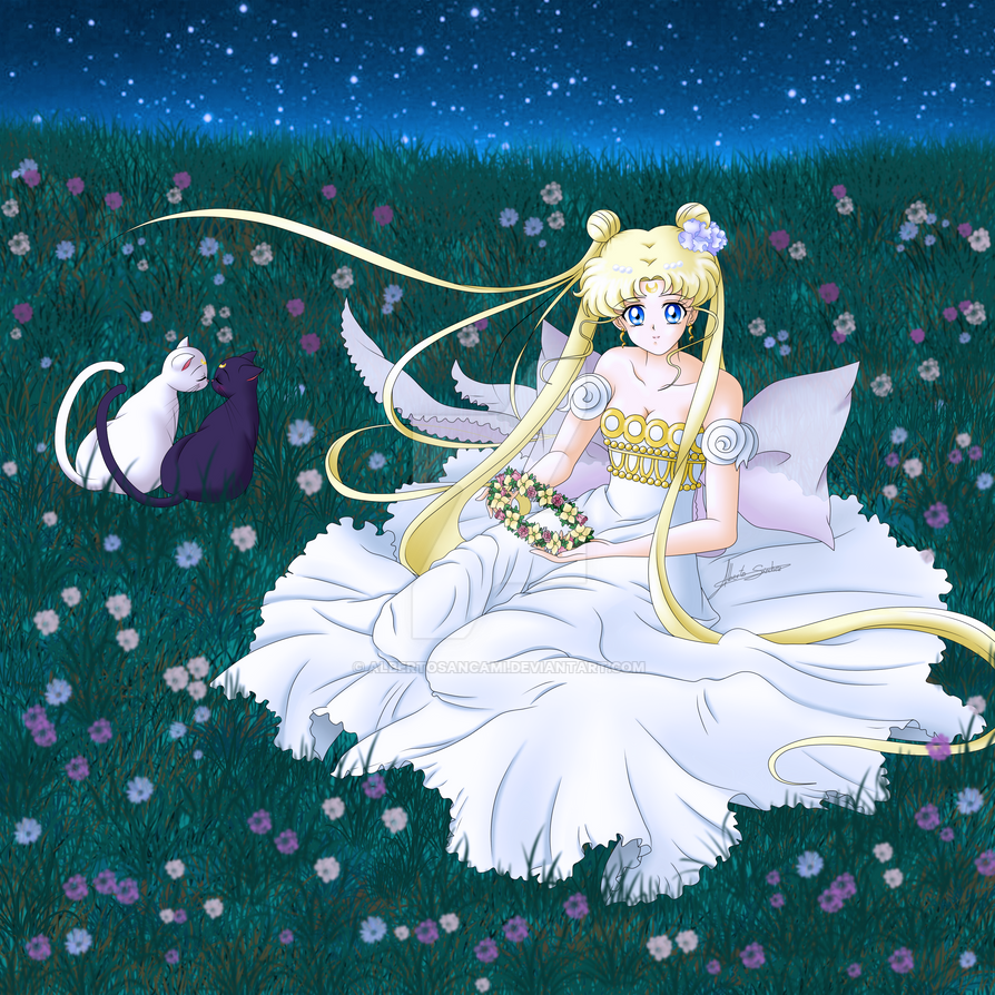 Neo Queen Serenity Crystal: Princess Serenity (Blonde) By
