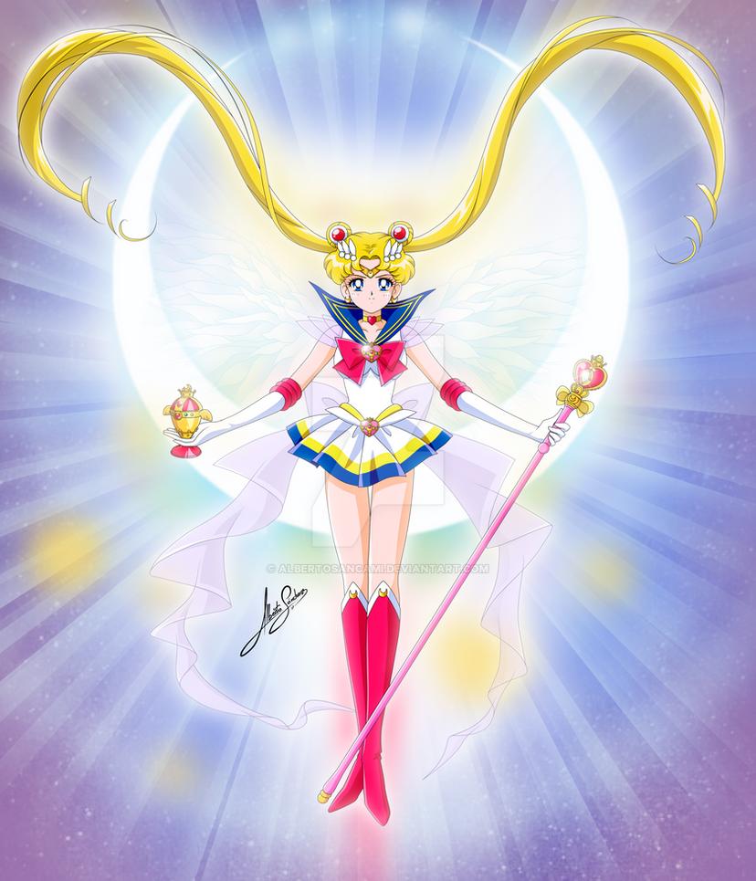 Super Saint Sailor Moon by AlbertoSanCami