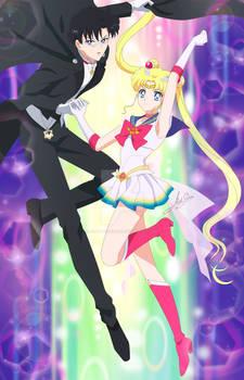 Sailor moon Eternal scene