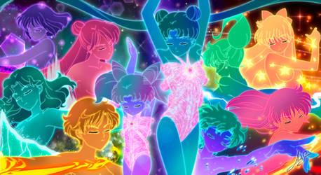 Sailor guardians transformation