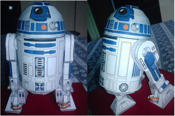 R2-D2 Papercraft