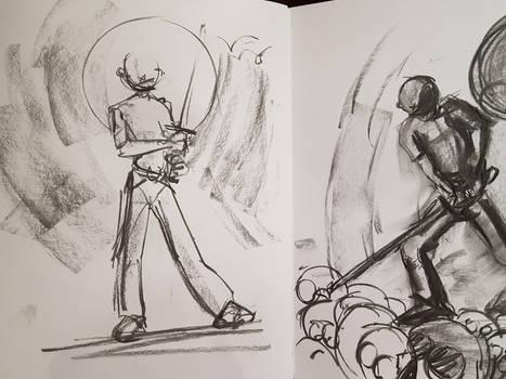 ronin doodle