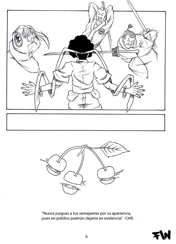 afro samurai coloring pages - manga afro samurai pag 6 by chr85esp on deviantart