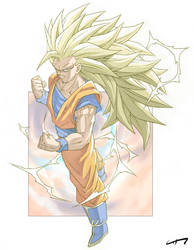 Goku SSJ3 by chr85esp