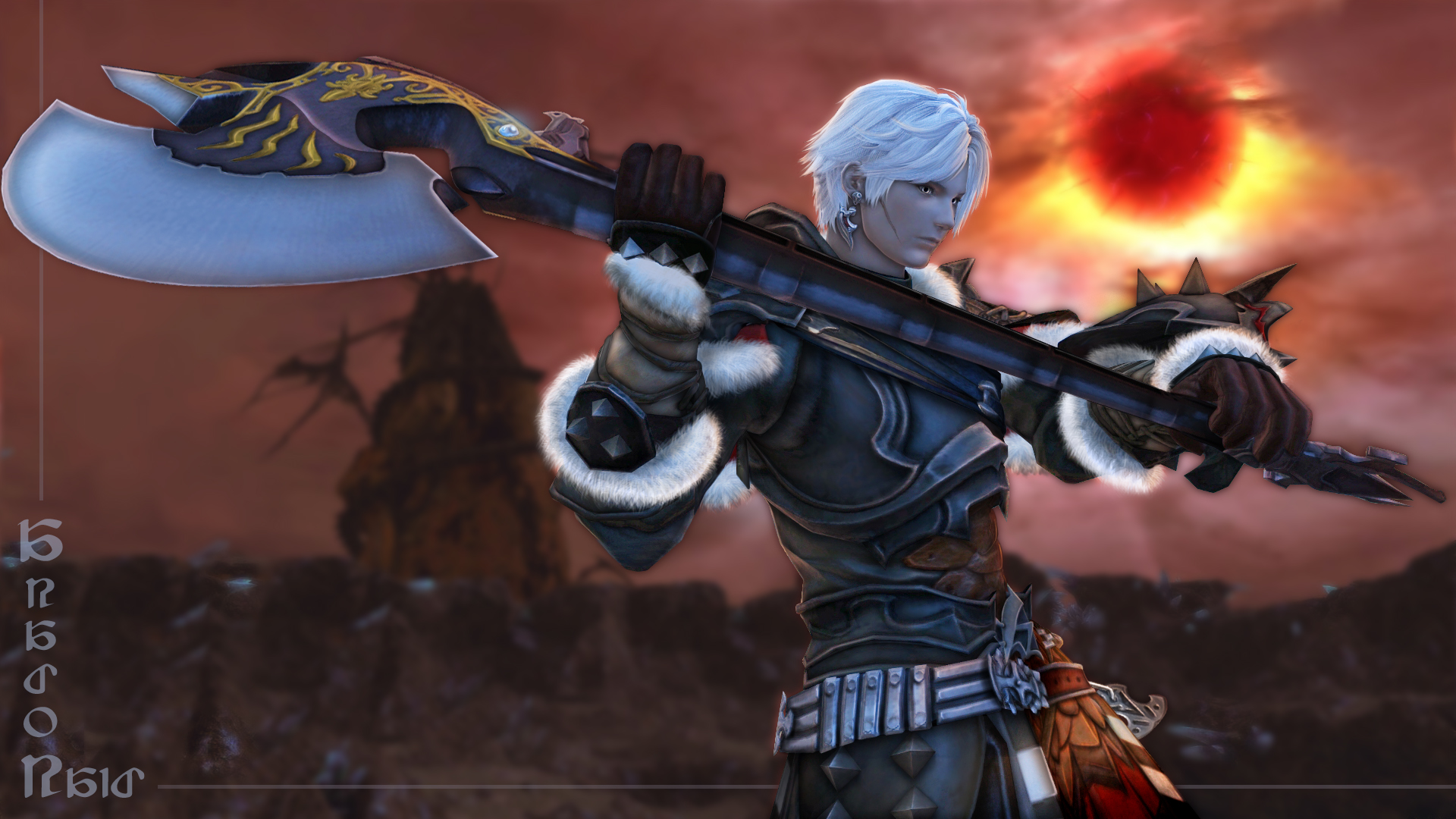 ff14 warrior - photo #23