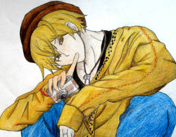 Kise Ryota drawing by ClairaAkami