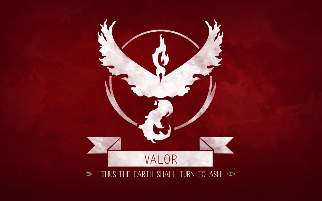 Team Valor Pokemon GO Wallpaper by ClairaAkami