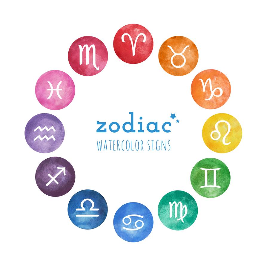 Zodiac icon set by ClairaAkami