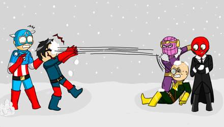 Snowball - Marvel by Le-Sluagh