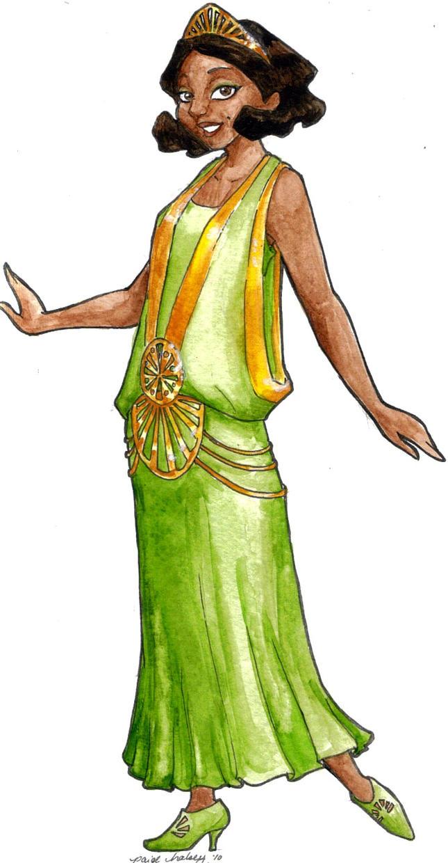 Princess Tiana by paigehwarren