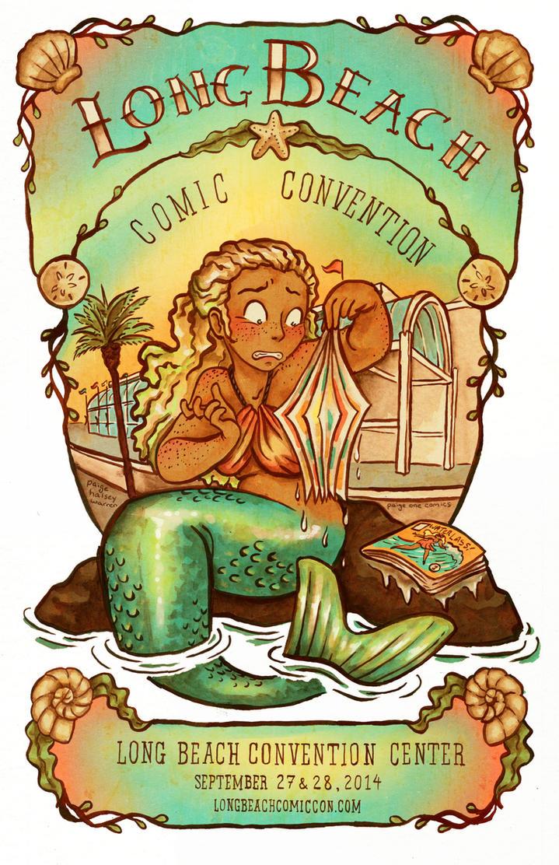 Long Beach Comic Con Poster 2014 by paigehwarren
