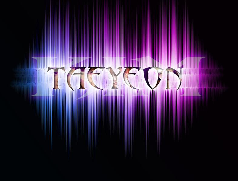 snsd taeyeon name wallpaper by exoticgeneration21 on