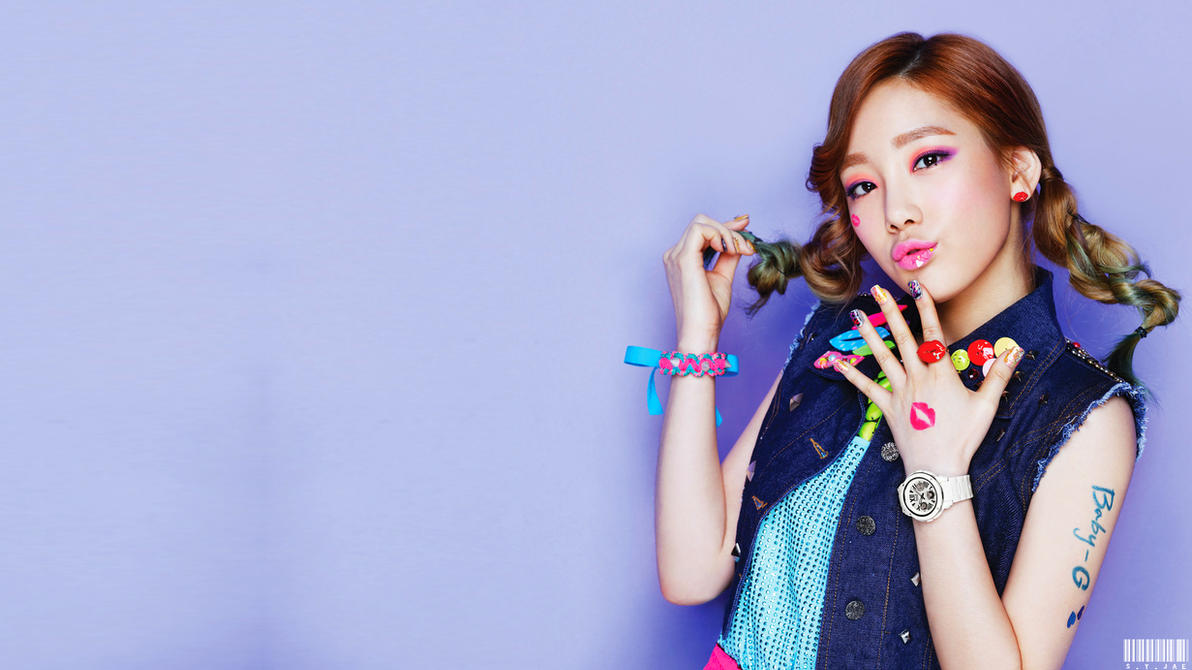 Taeyeon Kiss me Baby g Taeyeon Kiss me Baby-g