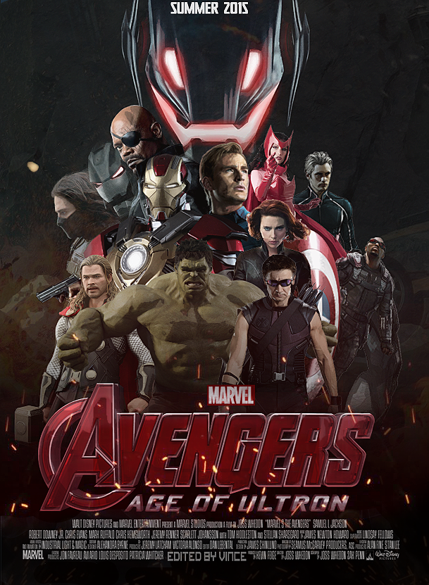 Avengers Age Of Ultron By Iloegbunam On Deviantart: Avengers: Age Of Ultron By ExoticGeneration21 On DeviantArt