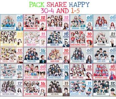 30042018 :: PACK SHARE 30/4 AND 1/5