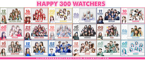 090718 :: HAPPY 300 WATCHERS - [PART1] by Lovelyteam