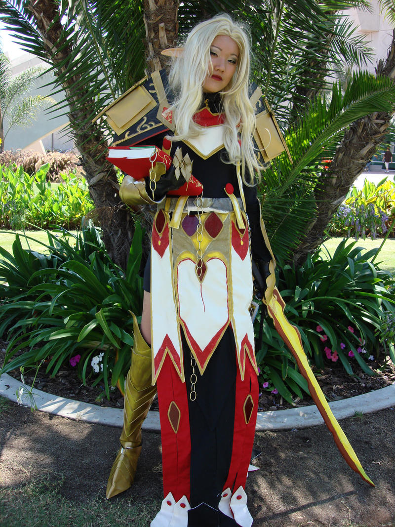 blood elf paladin by AijiS