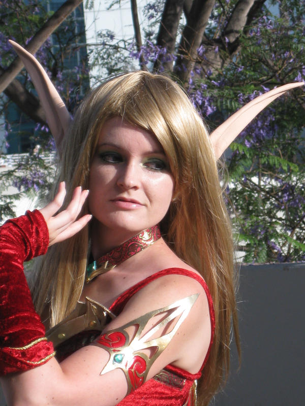 Blood Elf Priest by AijiS