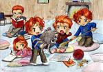 Chibi Weasleys