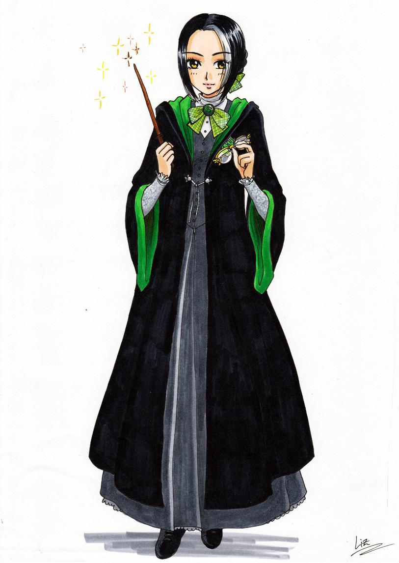 Iris, colored version