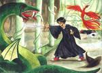 Harry VS the Basilisk