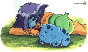 Bulbasaur... Zel chooses you