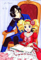 Ciel and Lizzie by Alkanet