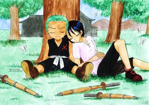 Zoro and Kuina