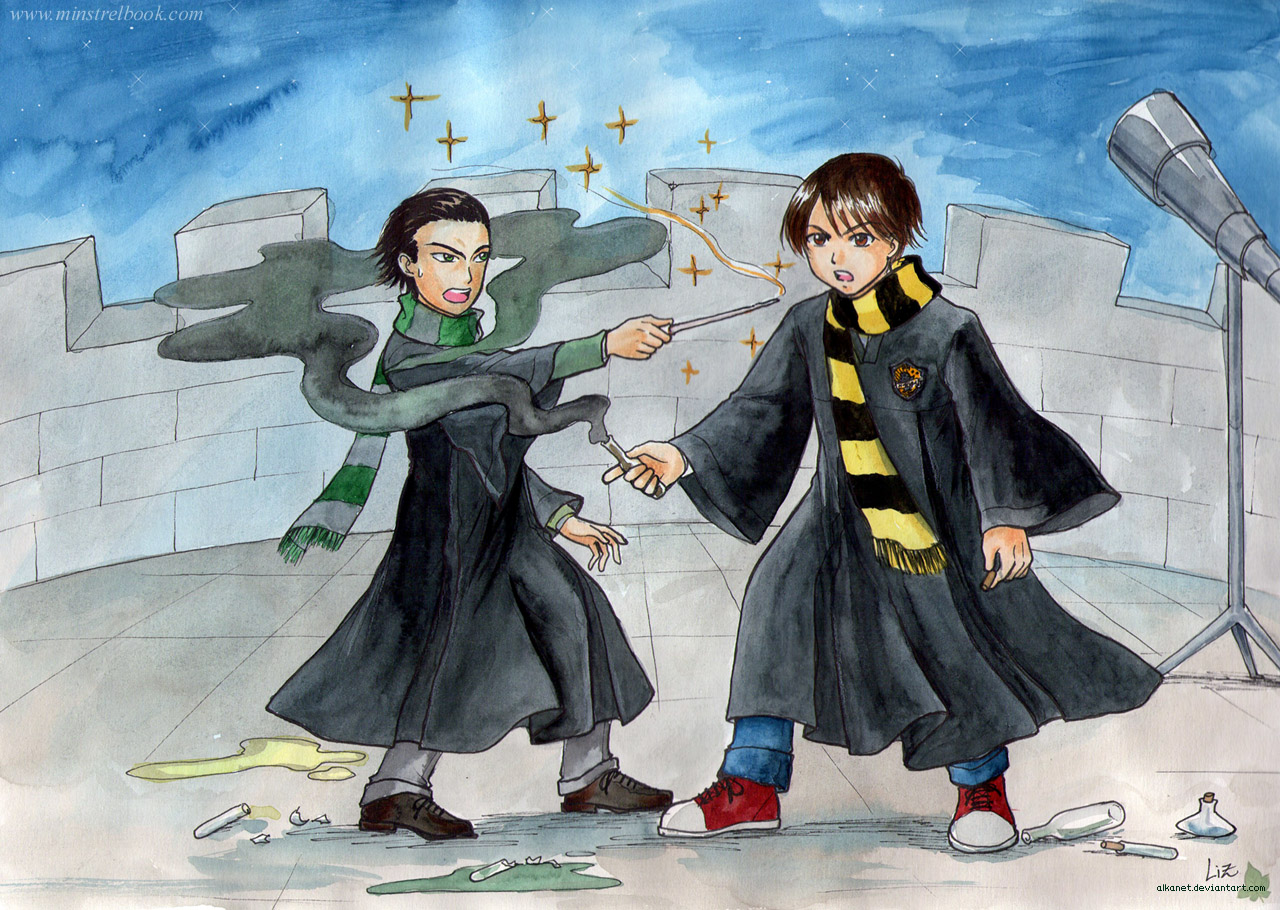 Milo and Eric - Wand VS potions