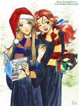 Christmas Luna and Ginny