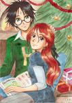 Christmas Harry and Ginny