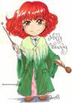 Chibi Molly Weasley by Alkanet