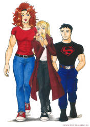 Commission for FFiamgoku: Young Justice Dark by Alkanet