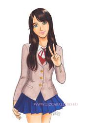 Cosplay girl by Alkanet