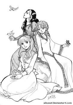 Ladies of The Mallorean
